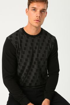 Cotton Bar Siyah Sweatshirt(113985386)