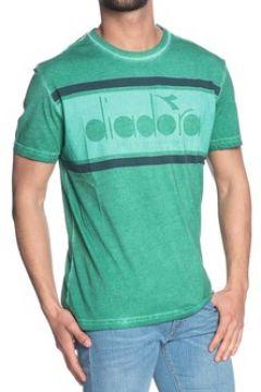 T-shirt Diadora SS SPECTRA USED VERDE(115514216)