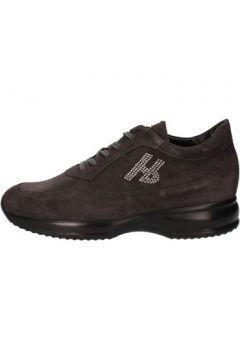 Chaussures Hornet Botticelli BOTTICELLI sneakers gris daim AE310(88516203)