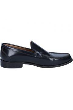 Chaussures Di Mella mocassins noir cuir brillant AB925(115409707)