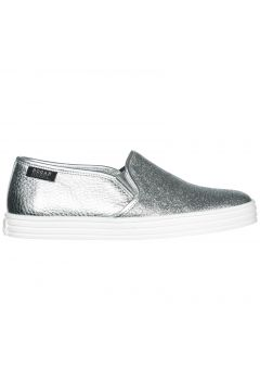 Women's leather slip on sneakers r141(77307678)