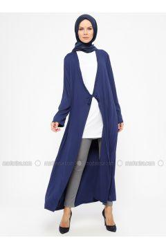 Navy Blue - Unlined - Prayer Clothes - ModaNaz(110315013)