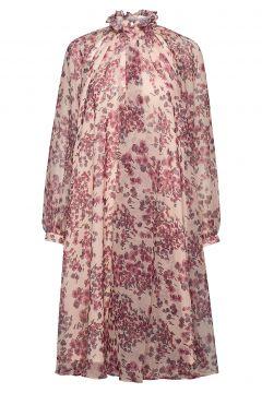 Felice Dress Kleid Knielang Pink IDA SJÖSTEDT(114163968)