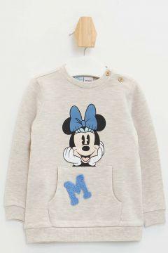 DeFacto Kız Bebek Minnie Mouse Lisanslı Sweatshirt(108988415)