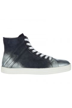 Women's shoes high top suede trainers sneakers r141(77307325)