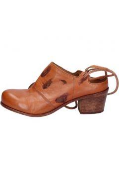Sandales Moma sabot sandales marron cuir BX967(115442710)