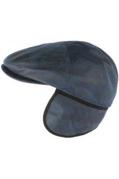 Casquette Aussie Apparel Casquette cache oreille cuir suédine bleu Epsom(115409735)