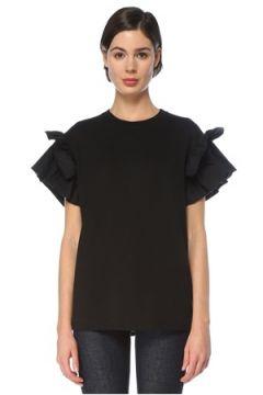 Victoria by Beckham Kadın TSHIRT Siyah XS EU(126468858)