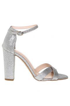 Beymen Studio Kadın Simli Silver Topuklu Ayakkabı(113969241)