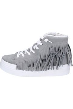 Chaussures 2 Stars sneakers gris daim ap707(115443202)