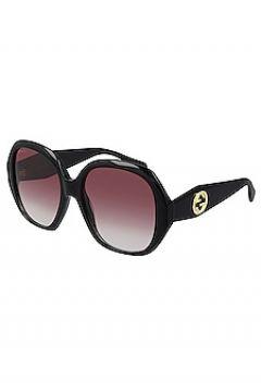 Солнцезащитные очки oval logo - Gucci(125438173)