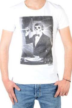 T-shirt Japan Rags Tee Shirt Link Blanc(115560141)