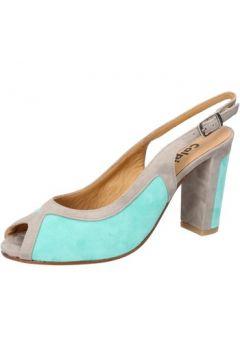 Sandales Calpierre sandales celeste daim gris BZ795(115399015)