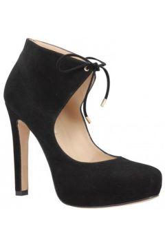 Boots Pura Lopez 405 velours Femme Noir(127958303)