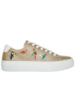 Women's shoes leather trainers sneakers victoria tropical(77303469)