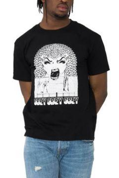 T-shirt Obey PERMAPOCALYPSE NERA(115538593)