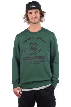 Blue Tomato Wood Pushers Sweater groen(90500728)