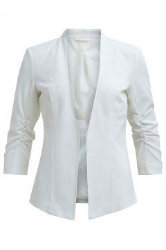 VILA 3/4-ärmel Passgenau Blazer Damen White(100524731)