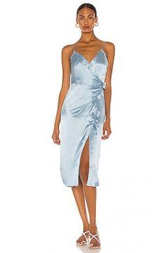 Платье миди - T by Alexander Wang(125445663)