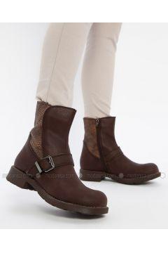 Brown - Boot - Boots - Shamdan(110334578)