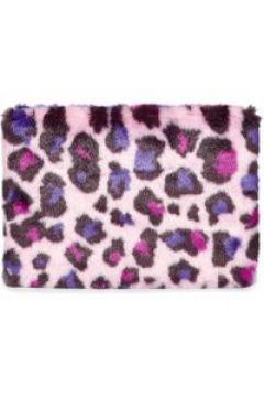 UGG Faux Fur Medium Zip Pochettes pour Femmes en Leopard Fairy Tale(112238428)