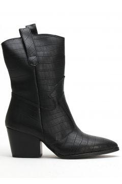 Ayakkabı Modası Siyah Kadın Bot(110929341)
