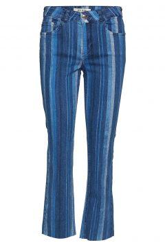 Sim Stripe Jeans Jeans Mit Schlag Blau MOS MOSH(116153735)