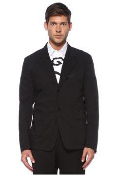 Givenchy Erkek Siyah Kelebek Yaka Ceket 48 IT(119423143)