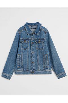 Mango Kids - Kurtka jeansowa dziecięca John 110-164 cm(122893849)