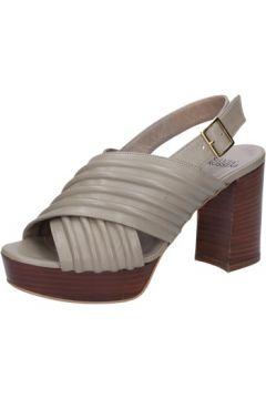 Sandales Silvia Rossini sandales beige cuir BZ580(115398878)