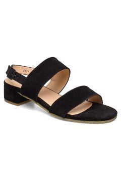 Sandals - Flat Sandale Mit Absatz Schwarz ANGULUS(109200385)