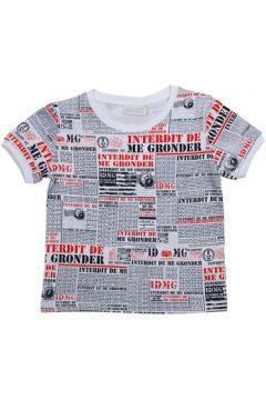 T-shirt enfant Interdit De Me Gronder NEWSPAPER(115540486)