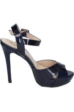 Chaussures escarpins Ikaros sandales bleu cuir verni BT756(115442900)