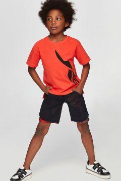 Nebbati B&G Oranj Erkek Çocuk T-Shirt(114005872)