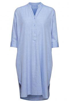 Kate Tunic Dress Chambray Tunika Blau MOSHI MOSHI MIND(118237297)