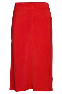 Margaret Skirt Knielanges Kleid Rot FILIPPA K(114164429)