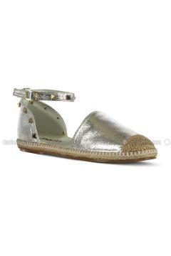 Silver tone - Flat - Flat Shoes - Marjin(110337946)