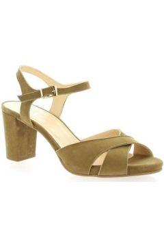 Sandales Brenda Zaro Nu pieds cuir velours(127910153)