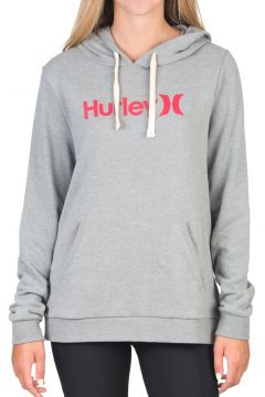 Pullover à Capuche Femme Hurley One And Only Fleece - Dark Grey Htr(122996115)