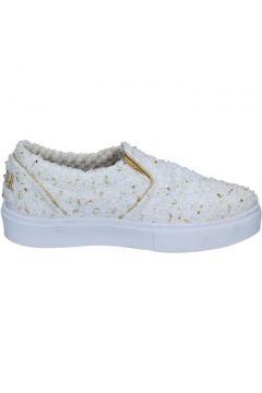 Chaussures 2 Stars slip on blanc textile or BZ525(115442868)