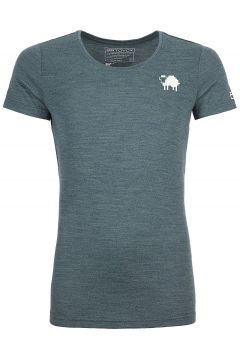 Ortovox 185 Merino Pixel Sheep Tech Tee groen(123263192)