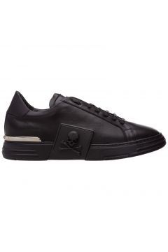 Men's shoes leather trainers sneakers phantom(118369931)