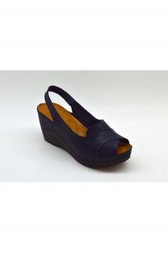 PALOMA Kadın Lacivert Ortopedik Konfor Tabanlı Sandalet(124150839)