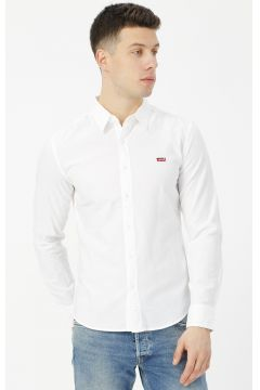Levis 86625-0002 Ls Battery Hm Shirt Slim Gömlek(114001568)