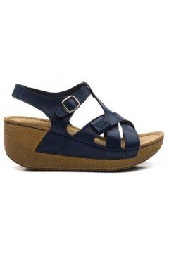 CARLA VERDE Kadın Lacivert Sandalet 141219(110969185)