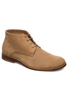 Alias Classic Suede Midcut Shoes Business Laced Shoes Beige ROYAL REPUBLIQ(108839431)