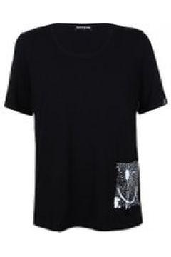 Shirt mit Pailletten-Tasche seeyou schwarz(119247982)