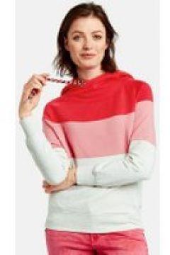 Bluza w kolorowe pasy Czerwony XXS(115901994)