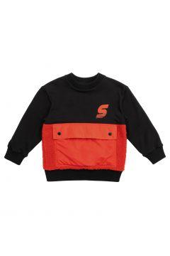 Sweatshirt Bio-Baumwolle Bi-Material(121172094)
