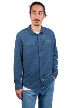 RVCA Freeman Cord Shirt blauw(95394212)